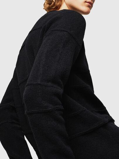 Diesel - KASTORN, Black - Knitwear - Image 5