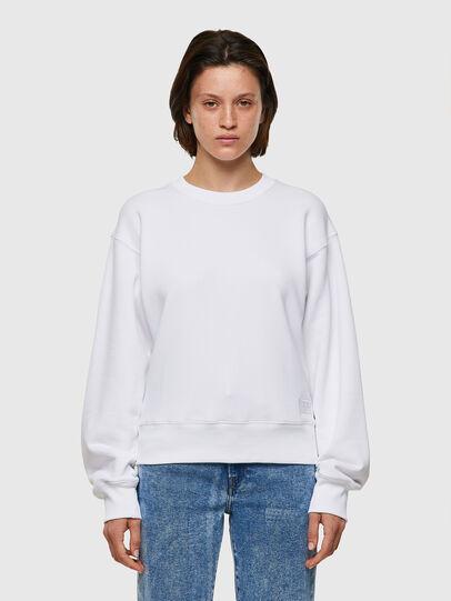 Diesel - F-LYM-C.C, White - Sweaters - Image 1
