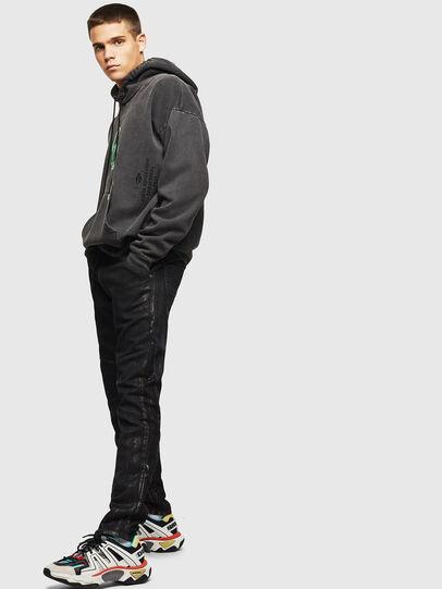 Diesel - D-Luhic JoggJeans 0092W, Black/Dark grey - Jeans - Image 6
