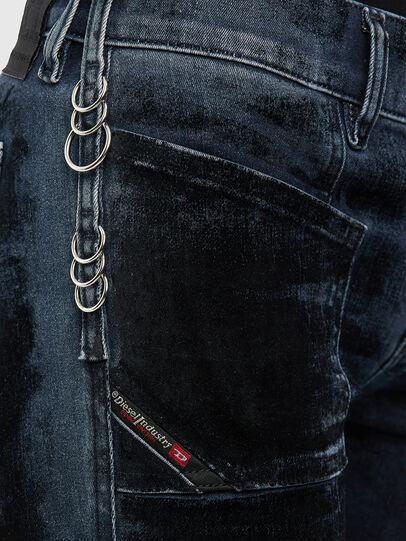 Diesel - Slandy 009KN, Dark Blue - Jeans - Image 5