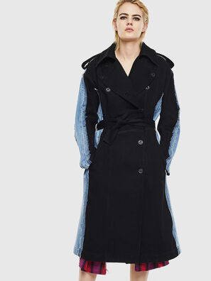 DE-PRAVU, Black/Blue - Denim Jackets