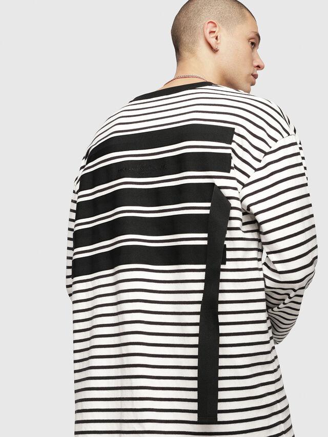 Diesel - T-DAICHI, White/Black - T-Shirts - Image 3