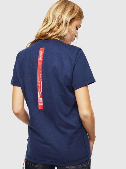 Diesel - CC-T-DIEGO-COLA, Dark Blue - T-Shirts - Image 4