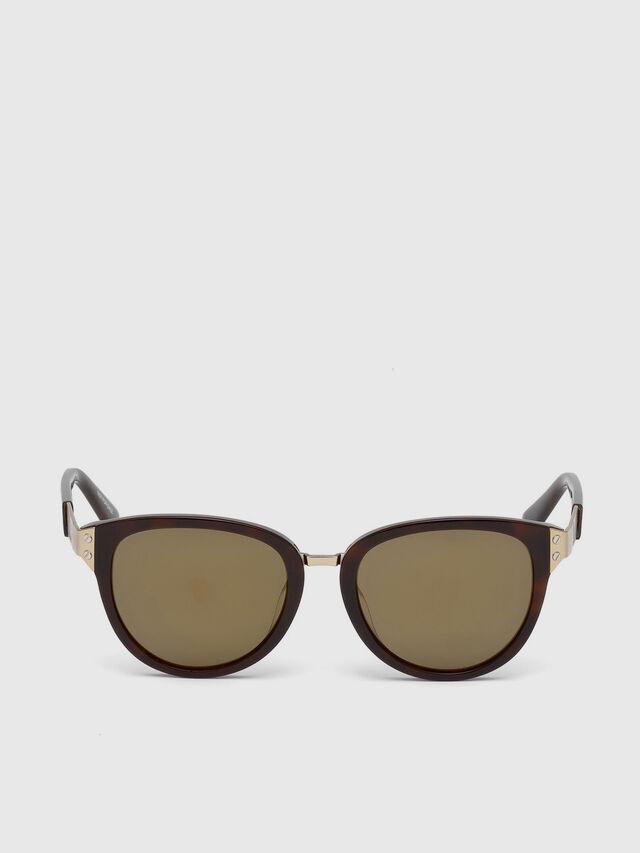 Diesel DL0234, Brown - Eyewear - Image 1