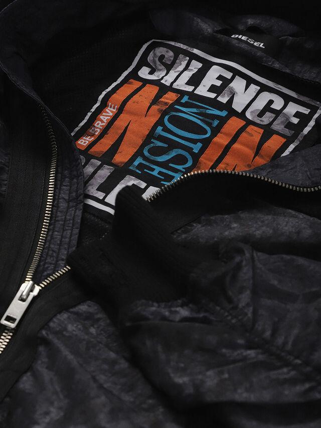 Diesel - J-SOULY-TYE, Dark Melange - Jackets - Image 5