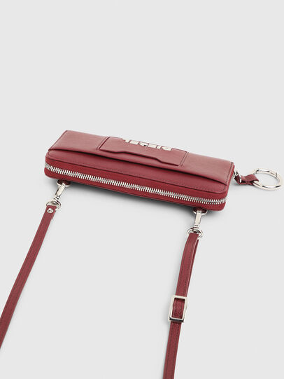 Diesel - ALLIUM, Bordeaux - Zip-Round Wallets - Image 4