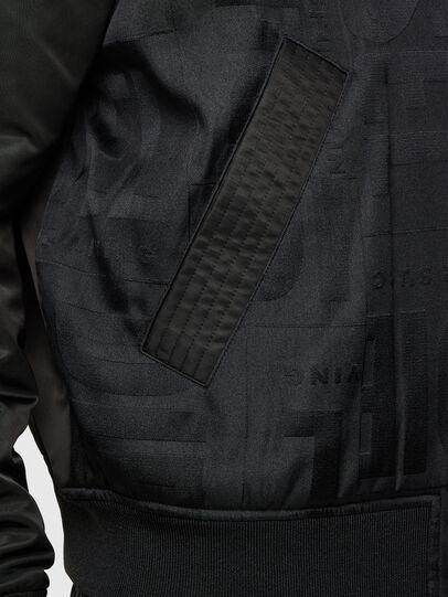 Diesel - J-SCHMIDZ, Black - Jackets - Image 4