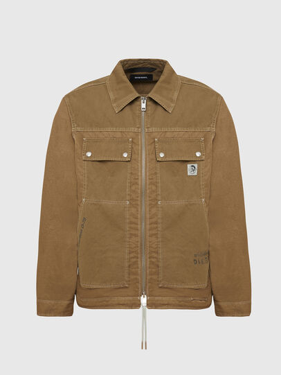 Diesel - J-BERKLEY, Light Brown - Jackets - Image 1