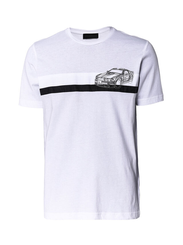 TY-STRIPESCAR, White