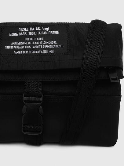 Diesel - ECHINO, Black - Crossbody Bags - Image 5