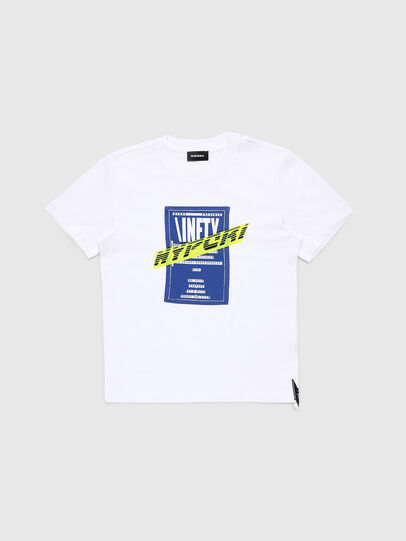 Diesel - TJUSTY7, White - T-shirts and Tops - Image 1