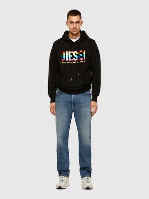 S-GIR-HOOD-P, Black - Sweaters
