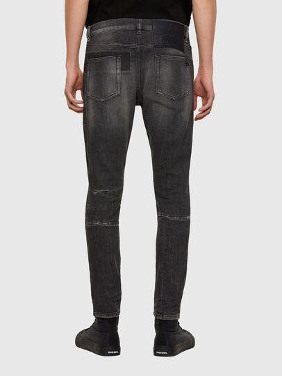 Diesel - D-Strukt 009MZ, Black/Dark grey - Jeans - Image 2