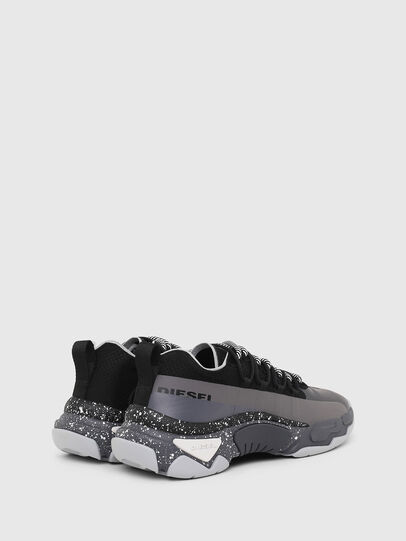 Diesel - S-KIPPER BAND, Gray/Black - Sneakers - Image 3