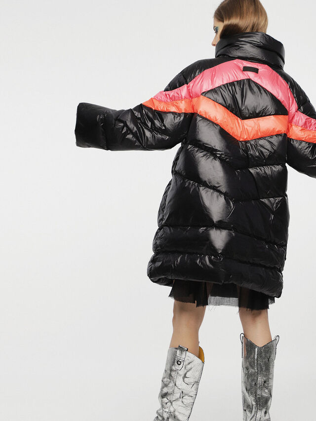 Diesel - W-HERMA, Black - Winter Jackets - Image 2