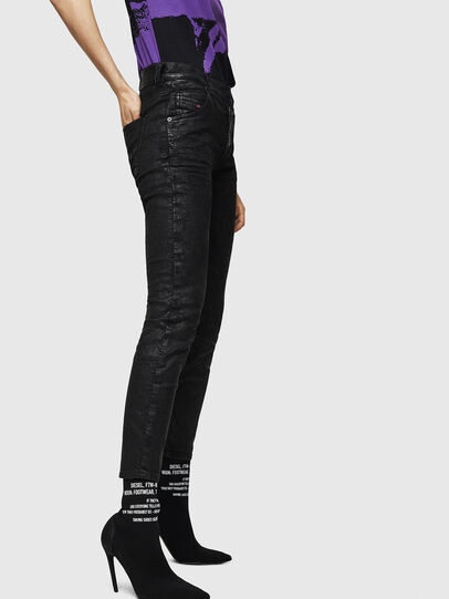 Diesel - Krailey JoggJeans 084AG, Black/Dark grey - Jeans - Image 5