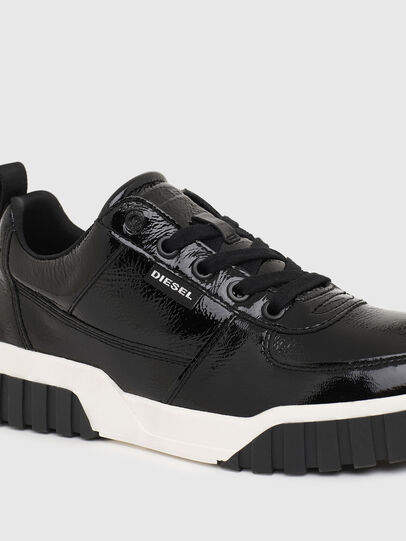 Diesel - S-RUA LOW W, Black - Sneakers - Image 4