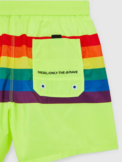 Diesel - BMBX-WAVE 2.017-P, Green Fluo - Swim shorts - Image 4