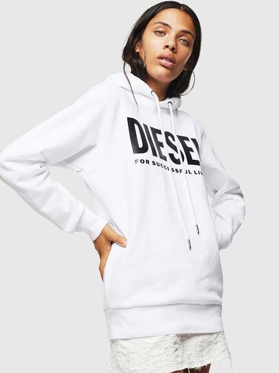 Diesel - F-GIR-HOOD-DIV-LOGO-,  - Sweaters - Image 1