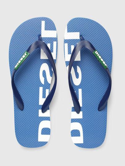 Diesel - SA-BRIIAN, Blue/White - Slippers - Image 2