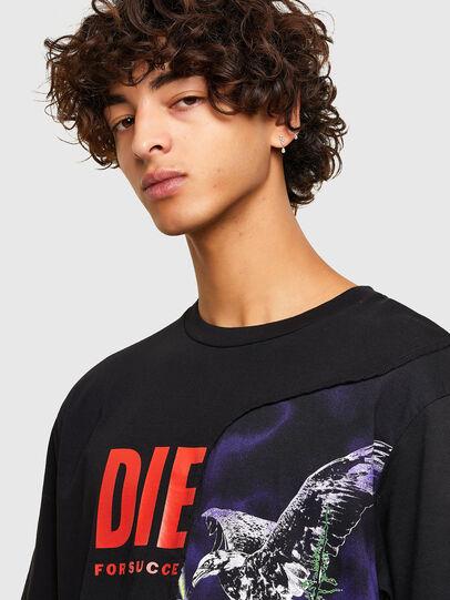 Diesel - T-BLAST, Black - T-Shirts - Image 3