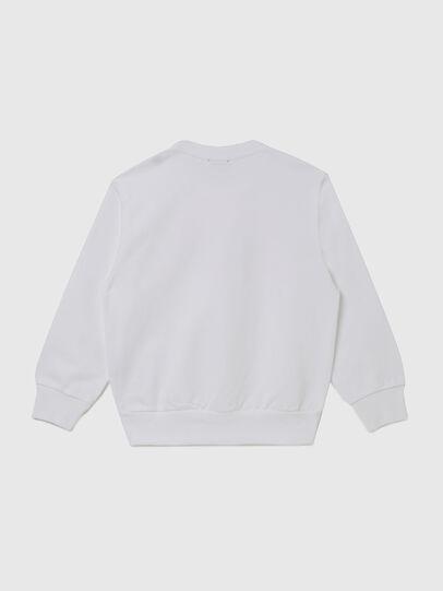 Diesel - SGIRKK10 OVER, White - Sweaters - Image 2