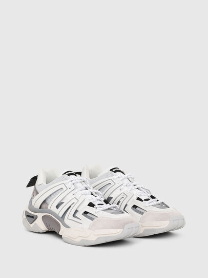 Diesel - S-KIPPER LOW TREK, White/Grey - Sneakers - Image 2