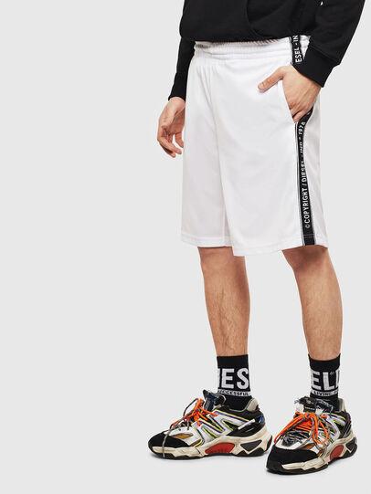 Diesel - P-HITOSHI-S1, White - Shorts - Image 4