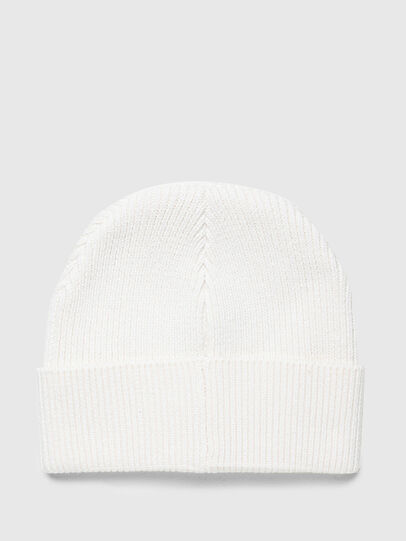 Diesel - K-CODER-F, White - Knit caps - Image 2