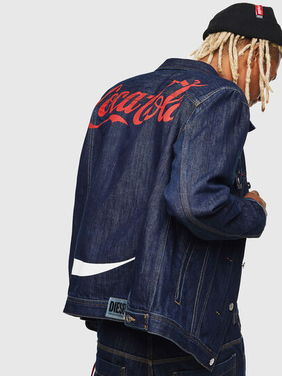 Diesel - CC-NHILL-W, Dark Blue - Denim Jackets - Image 3