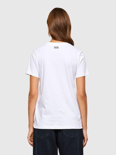 Diesel - T-SILY-V20, White - T-Shirts - Image 2