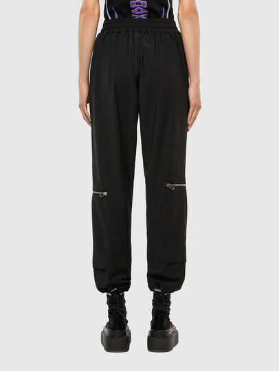Diesel - P-LEX-A, Black - Pants - Image 2