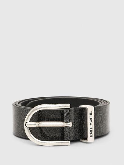 Diesel - B-WORN, Black - Belts - Image 1