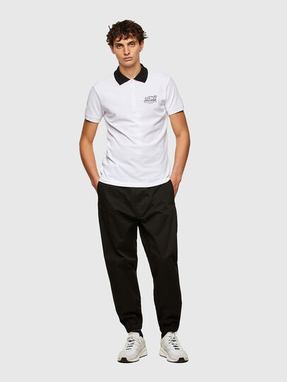 Diesel - T-RANDY-NEW-A1, White - Polos - Image 4
