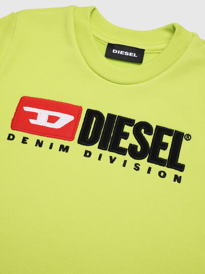 Diesel - SCREWDIVISIONB-R, Yellow Fluo - Sweaters - Image 3