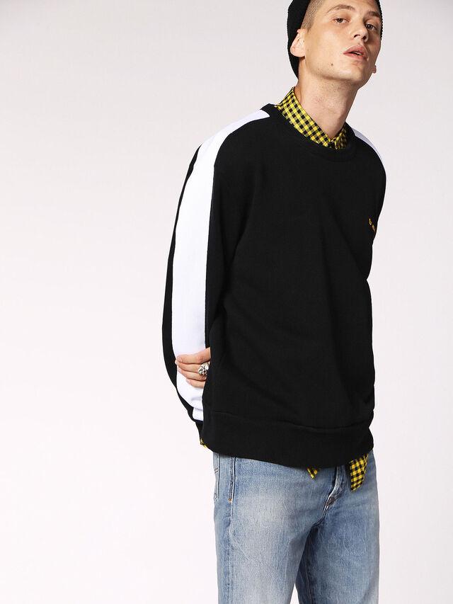 Diesel - S-MEGGY, Black - Sweaters - Image 3