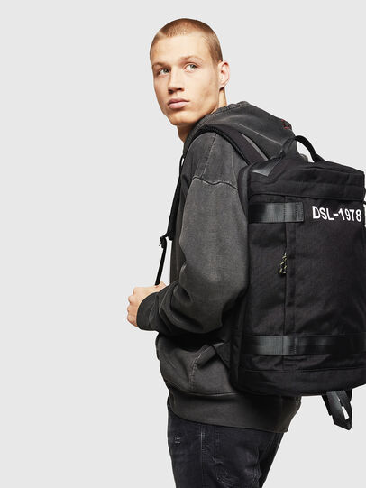 Diesel - PIEVE, Black - Backpacks - Image 7