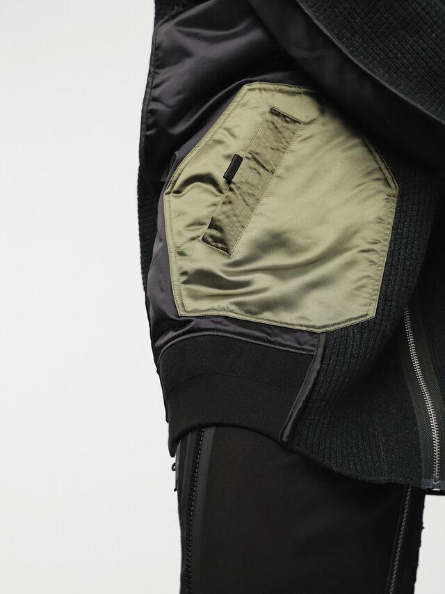 Diesel - M-LIF-FL, Black - Winter Jackets - Image 4
