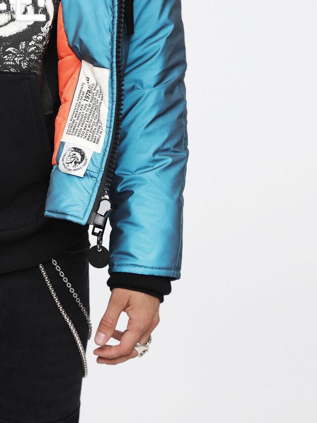 Diesel - W-CODY, Azure - Winter Jackets - Image 6