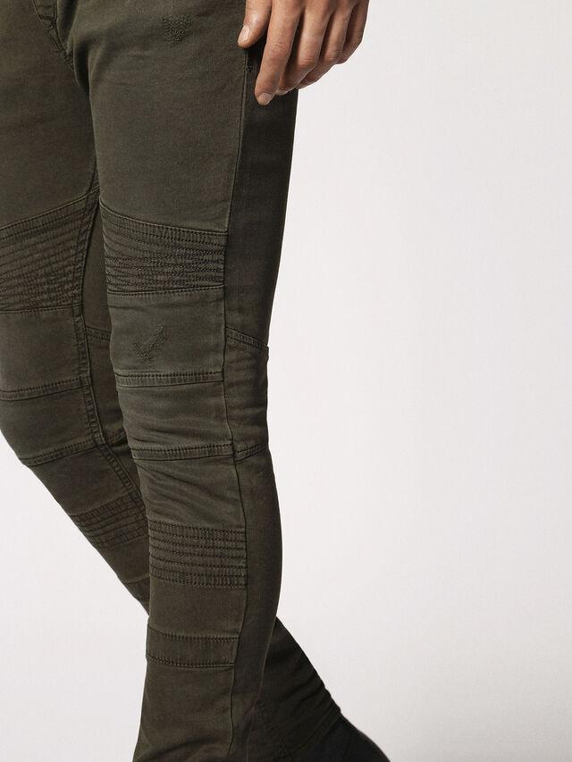 Diesel - BAKARI JOGGJEANS 0684T, Olive Green - Jeans - Image 8