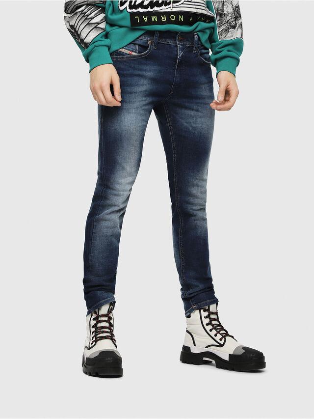 b3897fb3 Diesel - Thommer 084GR, Dark Blue - Jeans - Image 1