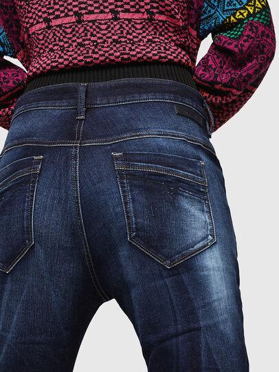 Diesel - Fayza JoggJeans 069IE, Dark Blue - Jeans - Image 4