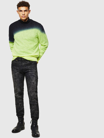 Diesel - K-TREAT, Yellow Fluo - Knitwear - Image 6