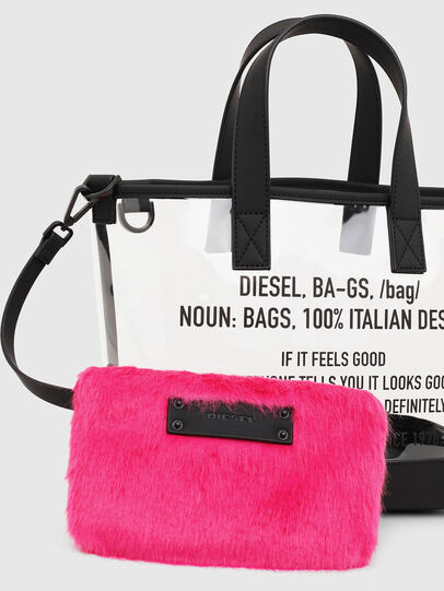 Diesel - PUMPKIE, White - Shopping and Shoulder Bags - Image 6