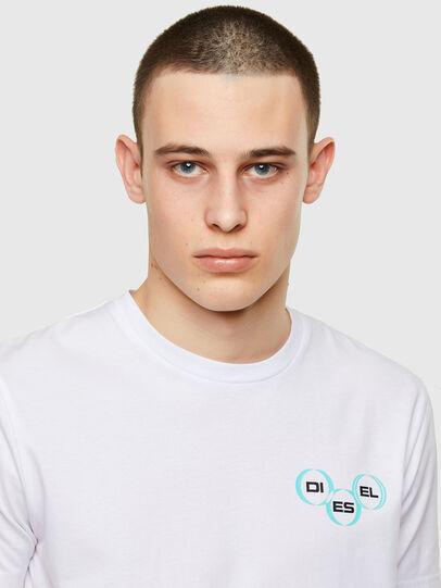 Diesel - T-DIEGOS-K41, White - T-Shirts - Image 3