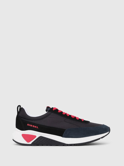 Diesel - S-KB LOW LACE, Black/Red - Sneakers - Image 1