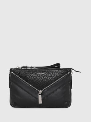 LE-LITTSYY, Black Leather - Clutches