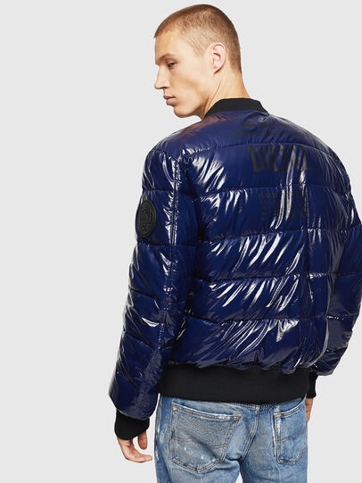 Diesel - W-ON, Blue - Winter Jackets - Image 2