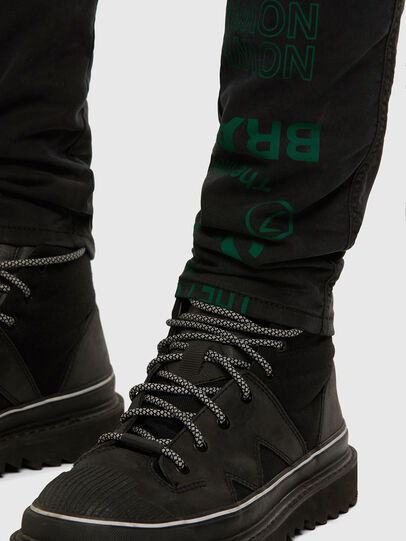Diesel - D-REEFT JoggJeans® 009HD, Black/Dark grey - Jeans - Image 8