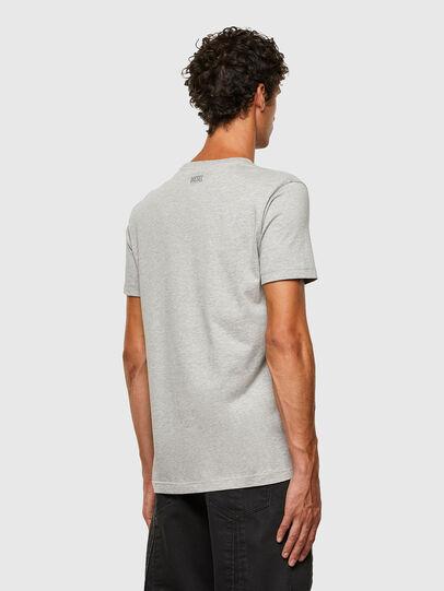 Diesel - T-DIEGOS-N28, Grey - T-Shirts - Image 2